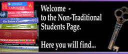Welcome to the Nontraditional Students page! Here you will find...